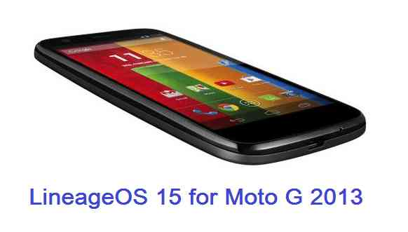 Download and Install Android Oreo on Moto G 2013