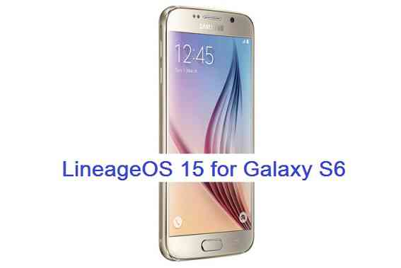 Download and install Android Oreo on Galaxy S6