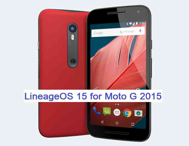 update, download and install Android Oreo on Moto G3 2015