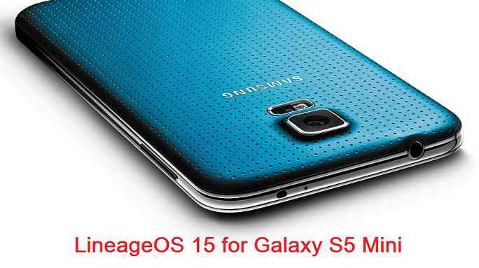 Install Android Oreo on Galaxy S5 Mini G800F based on