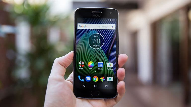 Install Android Oreo on Moto G5 Plus