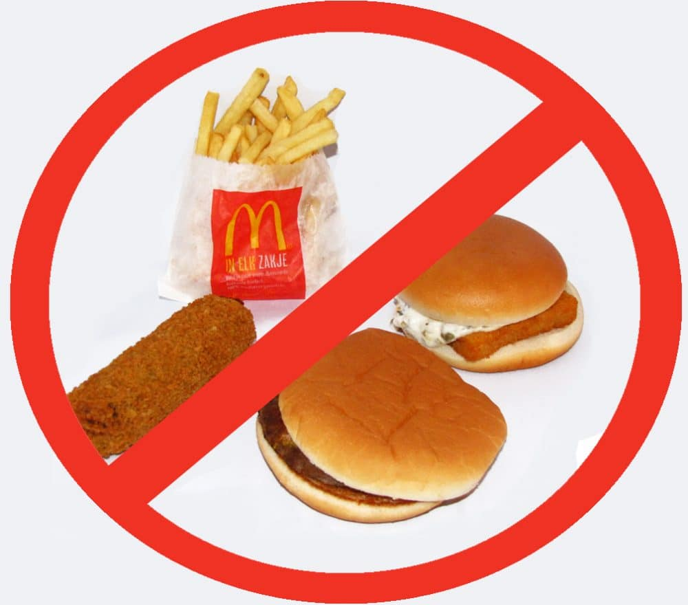 Fast food simple ways to avoid eating fast food