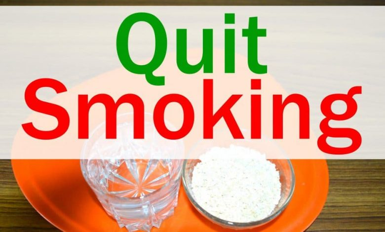 quit smoking Effective home remedies which will help you to quit smoking
