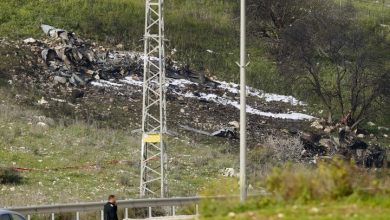 Photo of Syria war: Israeli F-16 fighter jet crashes