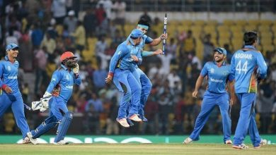 Afghanistan beat West Indies