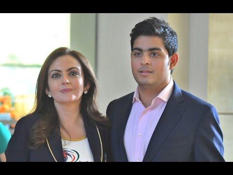 Mukesh Ambani's son going to marry