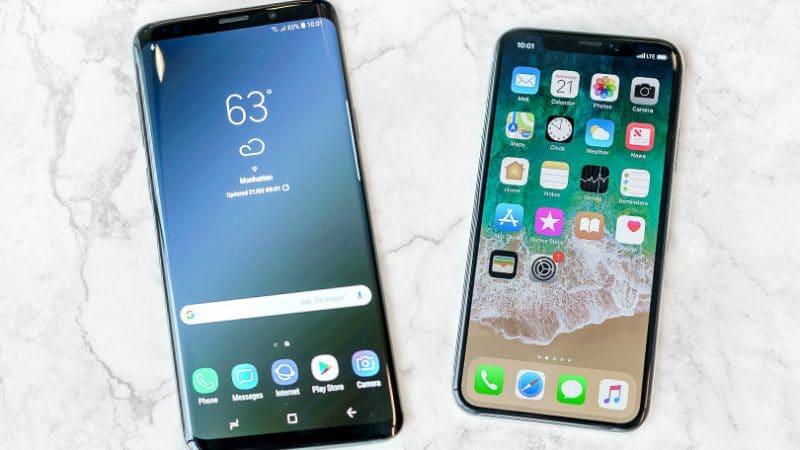 samsung-galaxy-s9-vs-iphone-x