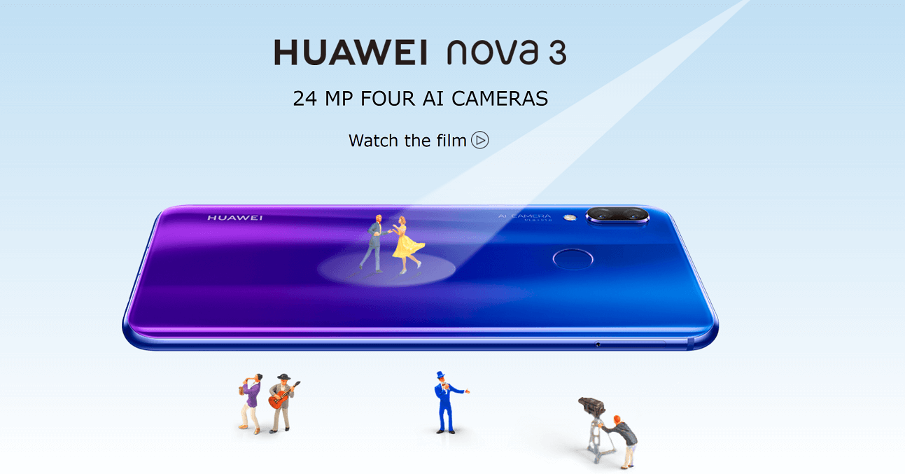 Huawei Nova 3, Nova 3i launched confirmed for 26th July