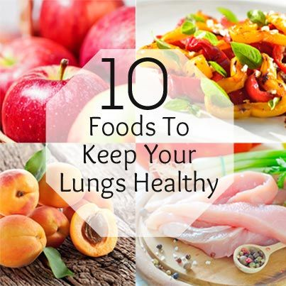 healthy lungs food