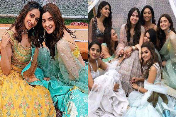 Alia Bhatt, Bridesmaid. Friends