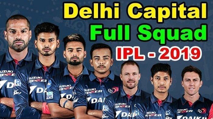 Delhi-Capitals-IPL-2019-Team-Squad-List
