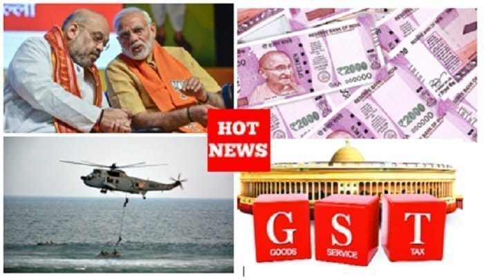 BJP benefit National Security, Demonetization and GST