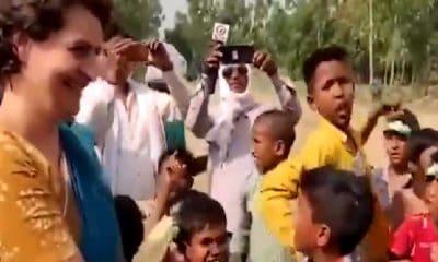 Priyanka Gandhi rallying in Amethi for brother Rahul Gandh