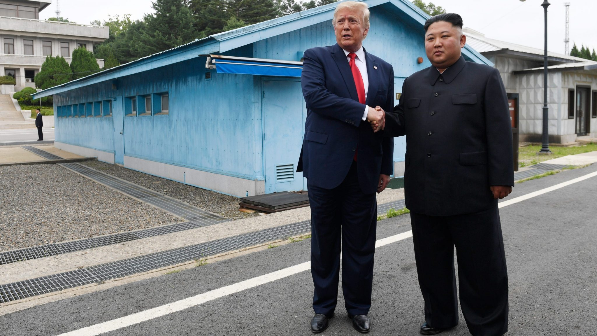 Photo of Trump first sitting US president to visit North Korea