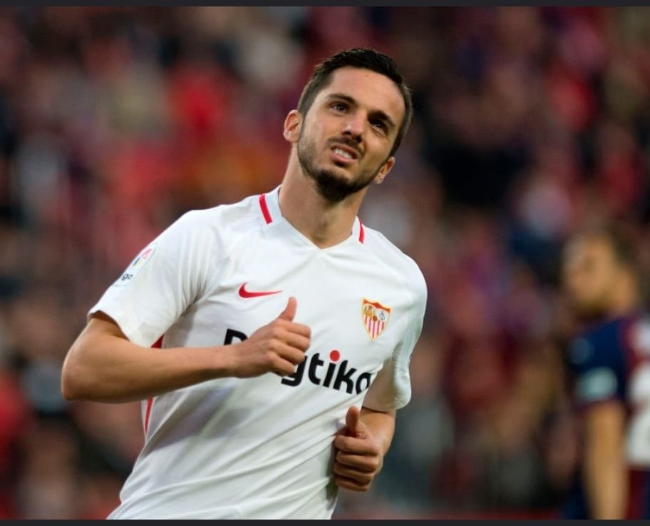 PSG signs in midfielder Pablo Sarabia