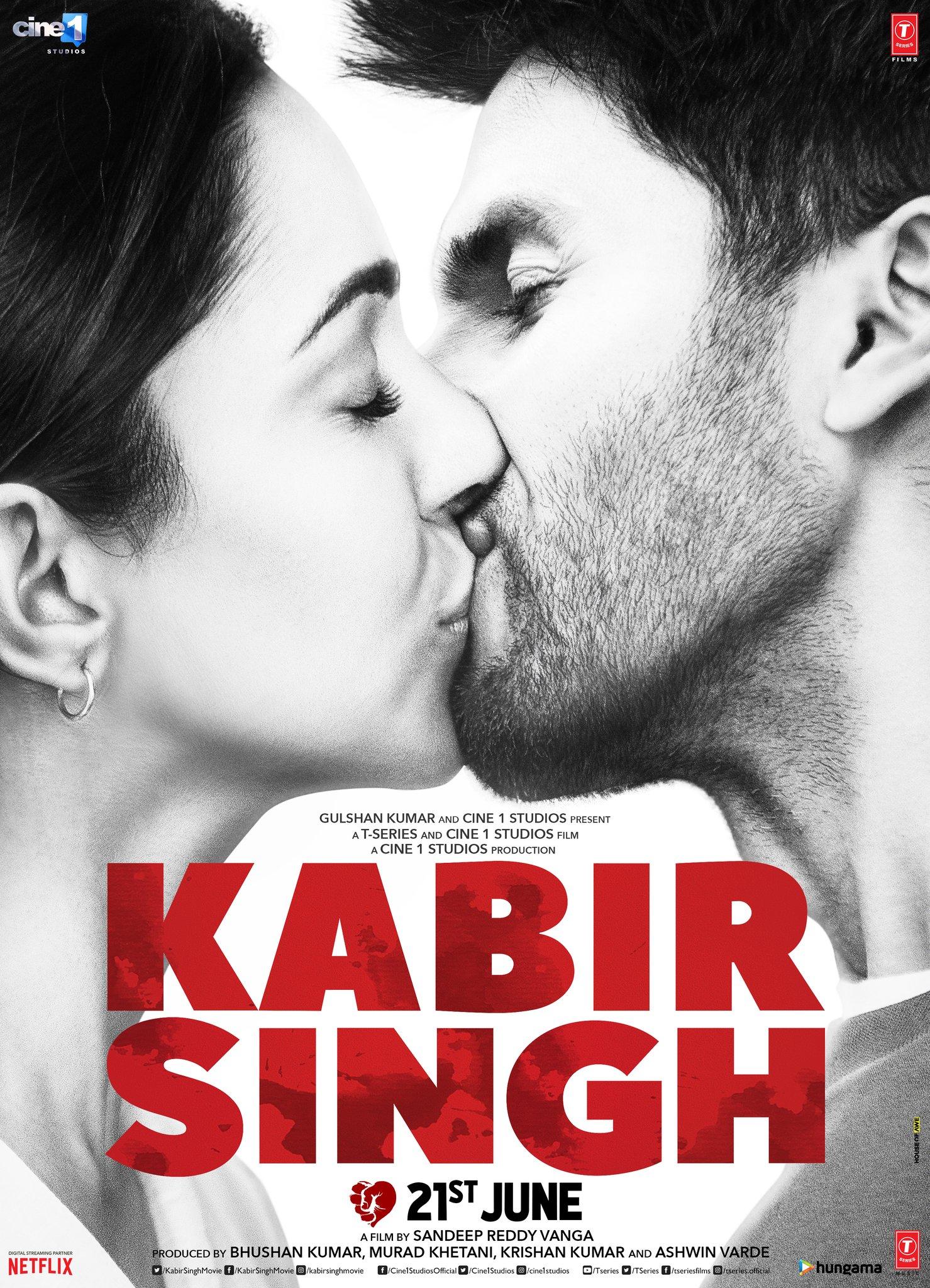 Kabir Singh Movie Fully Leaked Online By Tamilrockers