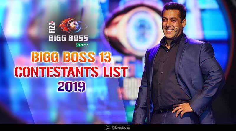 Bigg Boss 13 Confirmed Contestants List See Who Made It
