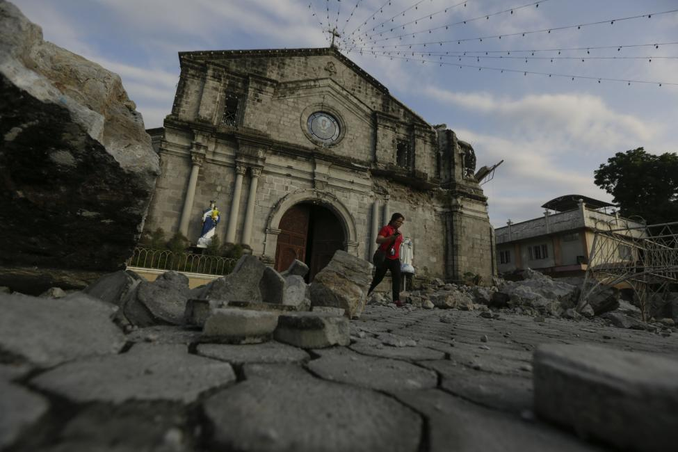 Photo of Strong Earthquake Hits The Philippines With Hefty Loss