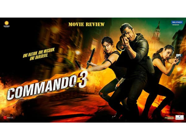 Commando 3 Movie