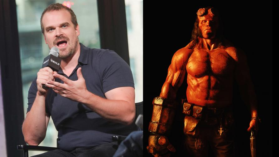 Actor David Harbour says that he's the only one with no Oscar nomination