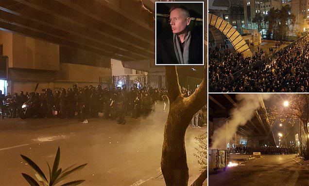 Photo of Anti-government Protests Spread In Iran to make Government Apologize for Ukraine plane crash coverup