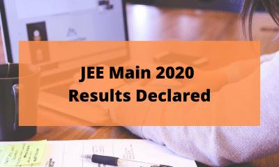 JEE Main 2020 Result