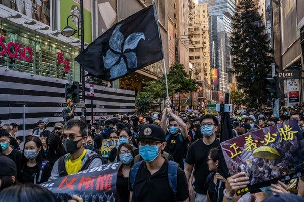Photo of Hong Kong Protest Movement Nominated for Nobel Peace Prize