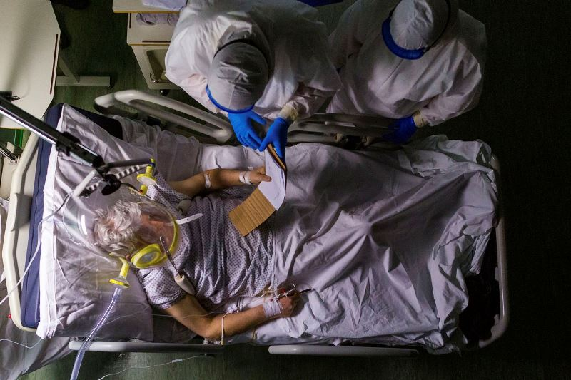 Photo of Doctors in the US find blood thickening and clots in coronavirus patients