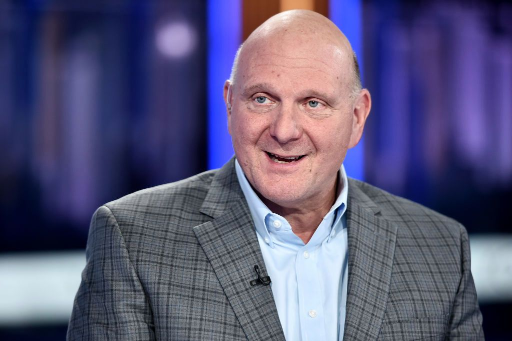 Steve Ballmer Richest People In The World