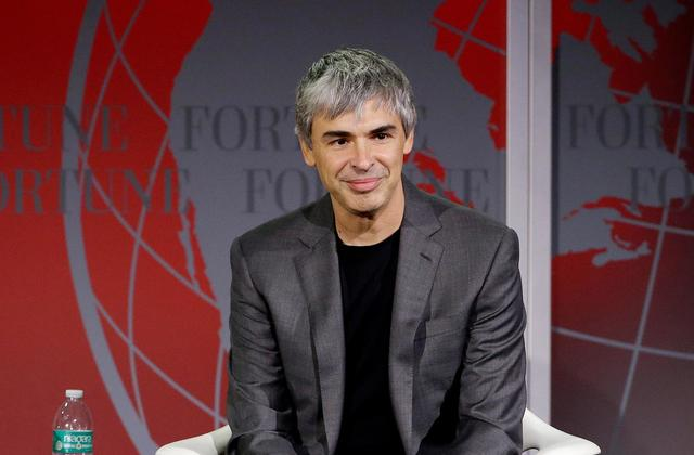 Larry Page Richest People in the World