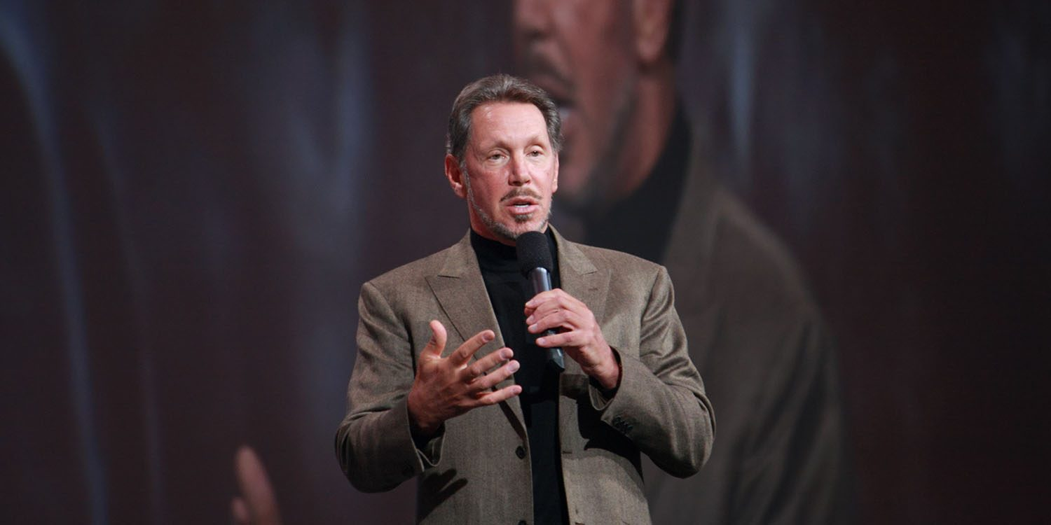 Larry Ellison Richest People In The World