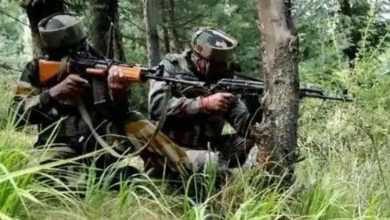 Photo of Jammu and Kashmir: Security forces killed 3 terrorists in Pulwama encounter, 1 soldier also martyred