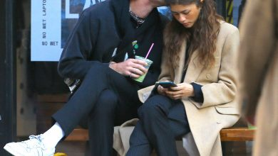 Photo of acob Elordi spotted doing PDA with Zendaya in Newyork Streets.